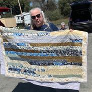 Margie Williams - strip quilt