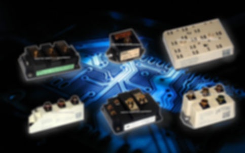 Igbts power modules eupec fuji semikron mitsubishi hitachi powerex europa mexico USA d