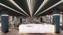 Tokat Kütüphane İç Mekan Projesi