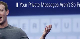 Facebook: apuros novamente sobre privacidade