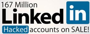 Linked-IN: 167 milhões de senhas à venda