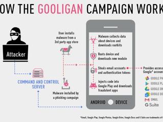 Gooligan: mais de 1MM de credenciais  Google comprometidas