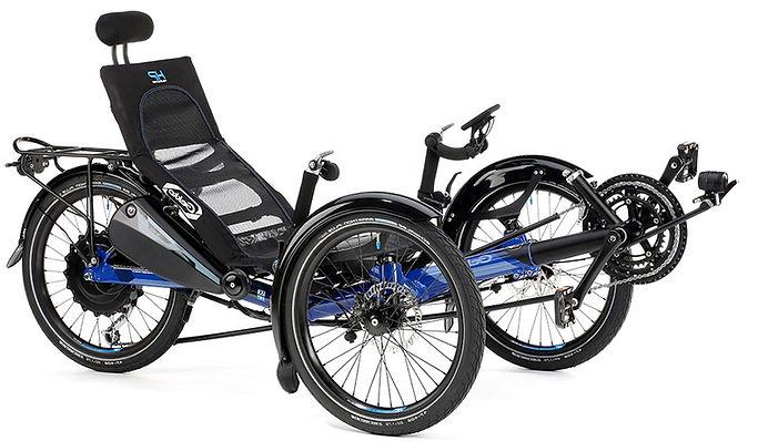 Geko Recumbent Trike by HP Velotechnik