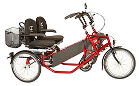 PF Velotechnik Side by Side bike for special needs cycling