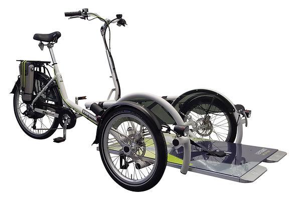 Velo Plus Wheelchair bicycle by Van Raam. Dutch Bike.