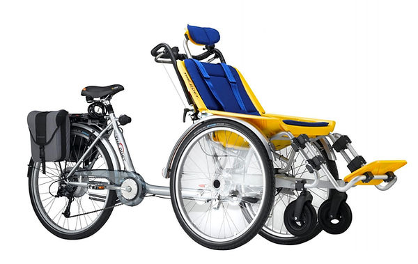 Duet Wheelchair Bicycle by Huka