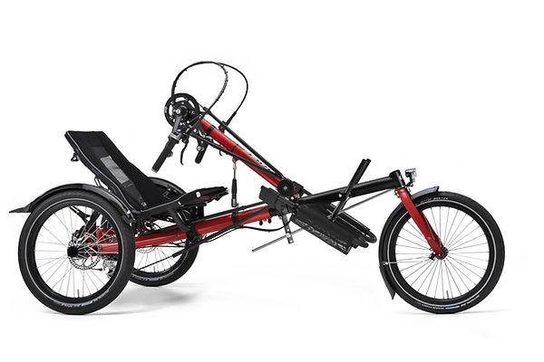 Recumbent Handbike Trike by Hase