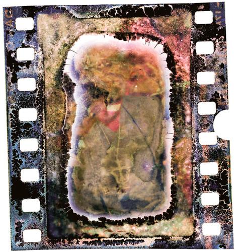 损坏:那些消退的记忆的证明   基甸·孟德尔   2016年扫描和重新装裱