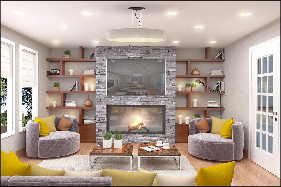 Living room interior design new jersey