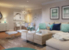 living room by area design
