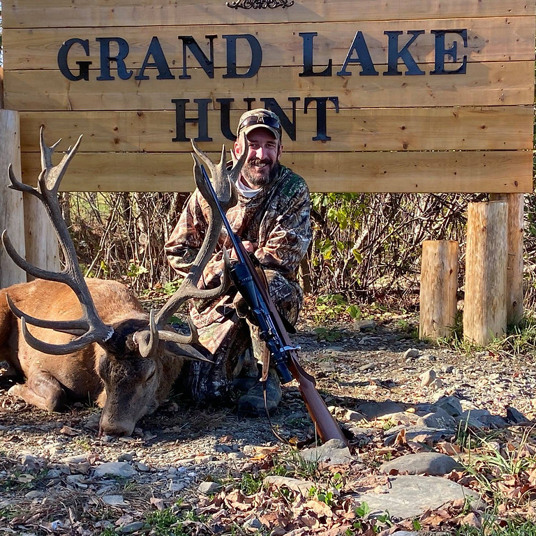 7-Day Veterans Red Stag Hunt at Grand Lake Hunt Park, Maine