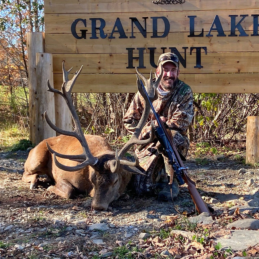 5-Day/6 Night Veterans Red Stag Hunt at Grand Lake Hunt Park, Maine