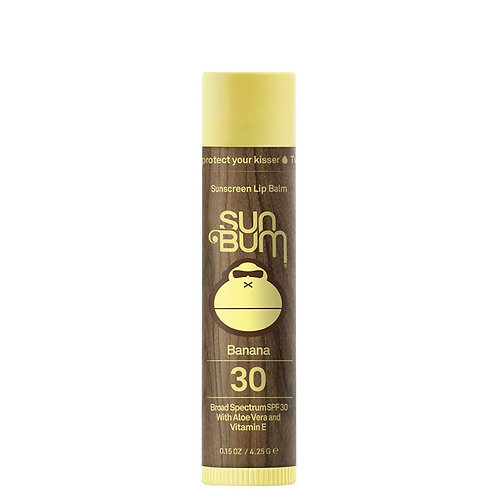 Sun Bum - SPF 30 Sunscreen Lip Balm / Banana