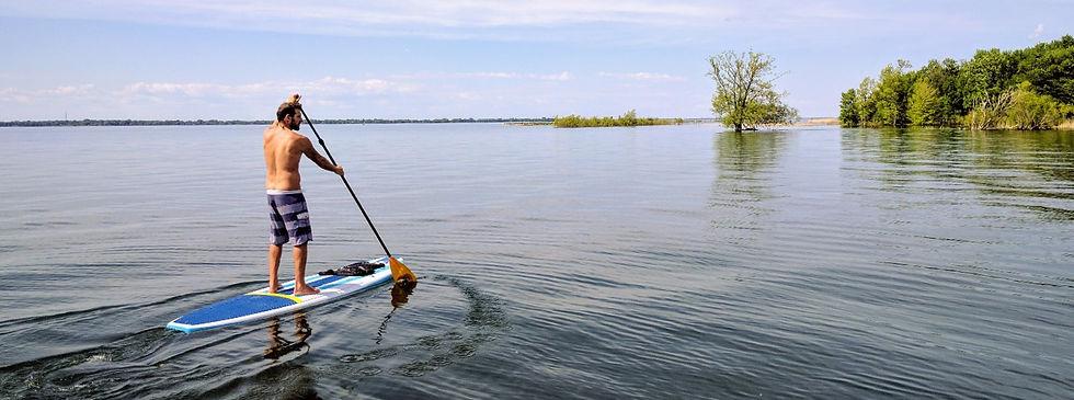 expédition de sup paddle board à montréal et laval