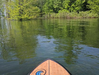 Expedition et sortie de paddleboard rive sud, iles de la paix beauharnois