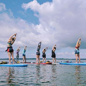 Cours d'initiation de sup paddle board à montréal et laval