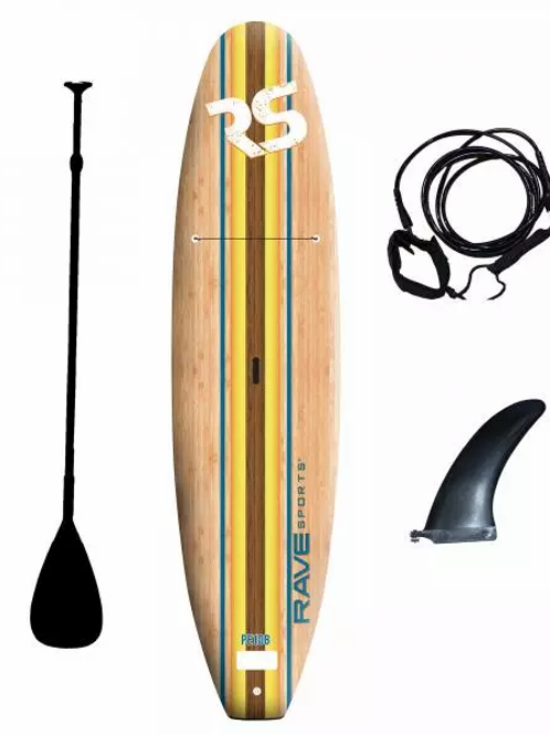 RAVE- Bamboo Soft Top 10'8'' - Kit Complet