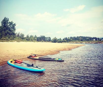 SUP Paddle Board rivière rouge à partir de Montréal