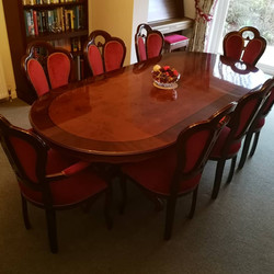 Dining chairs Chameleon Upholstery
