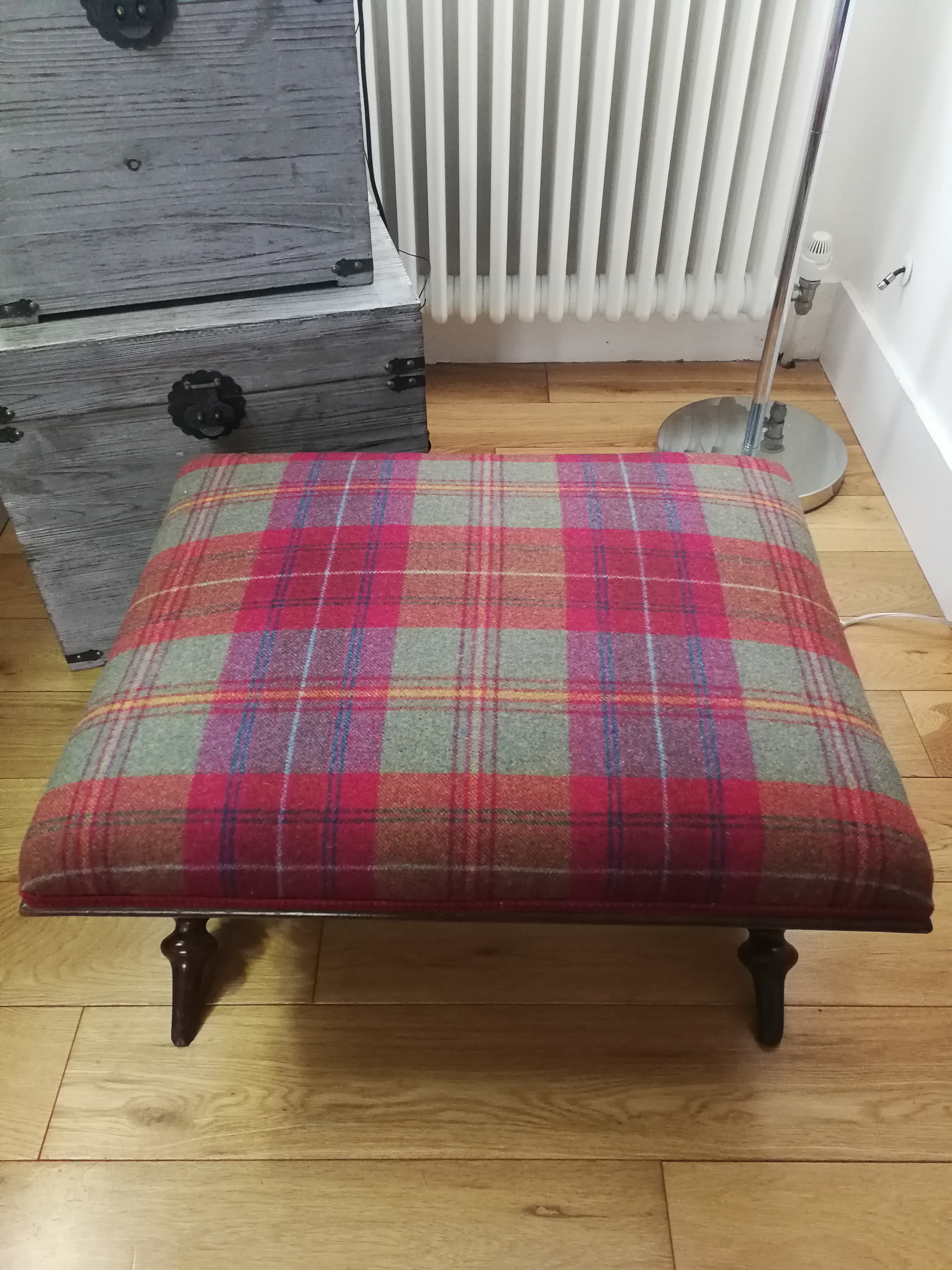 Scottish Footstool