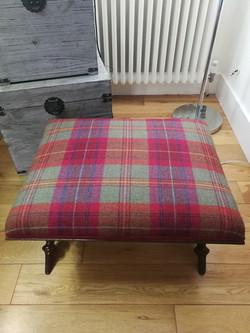 Scottish Footstool