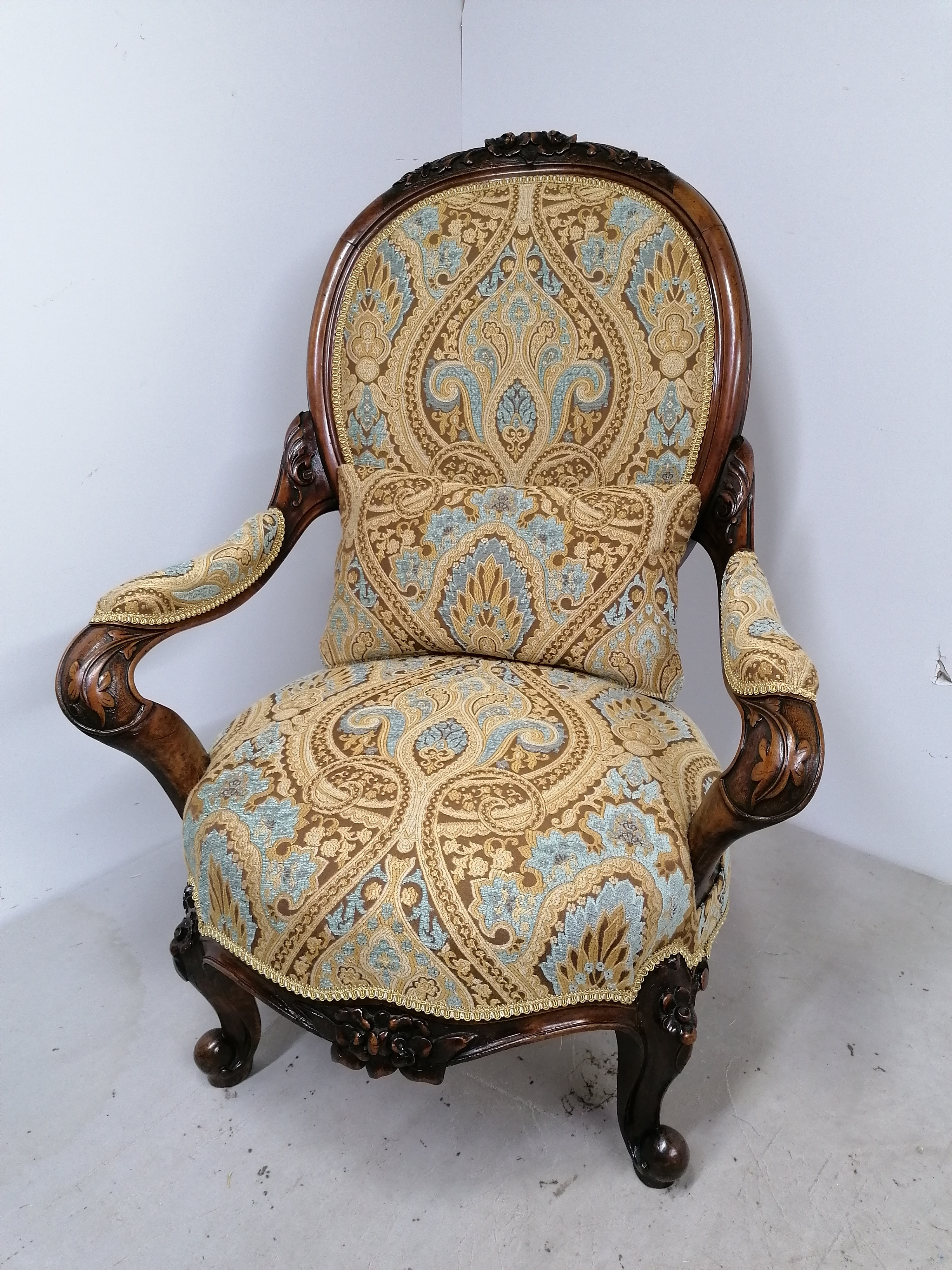 Stunning antique chair