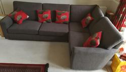 Corner sofa Clarke and Clarke Albany
