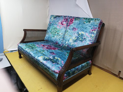 Bergere style bench