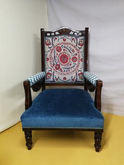 Sanderson Sojourn Weaves Antique Chair