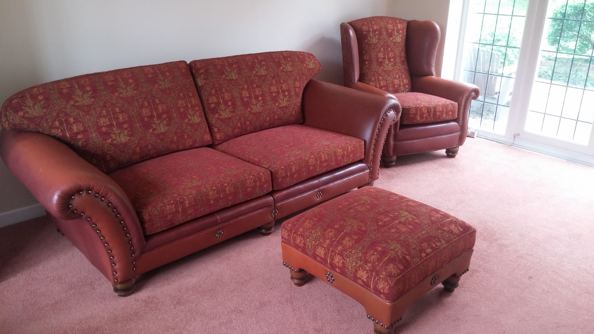 replacement leather suite