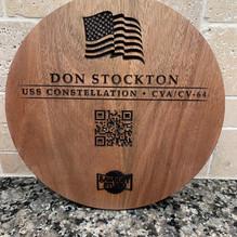 Navy plaque Reverse detail
