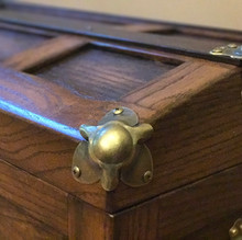 Steamer Trunk Exterior Detail