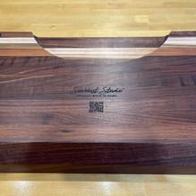 Custom Cutting Board Plate Groove