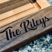 Cutting board personalized