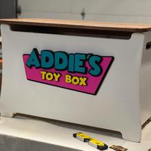 Custom Pine Toy Box