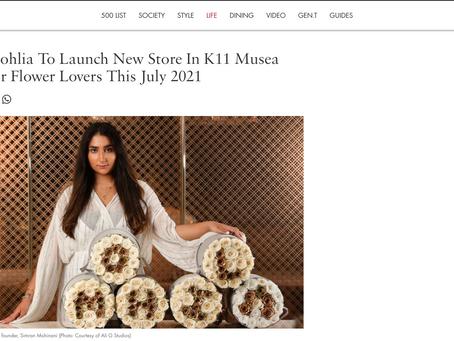 Tatler x MOHLIA Article