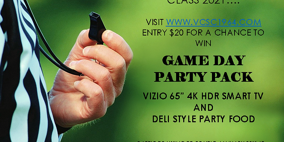 GAME DAY PARTY PACK RAFFLE