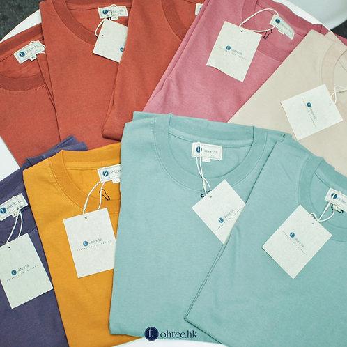 【現貨唔洗等】重磅厚身淨色T-Shirt