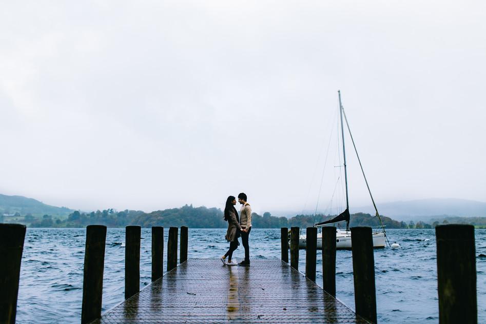 lake district wedding photograph
