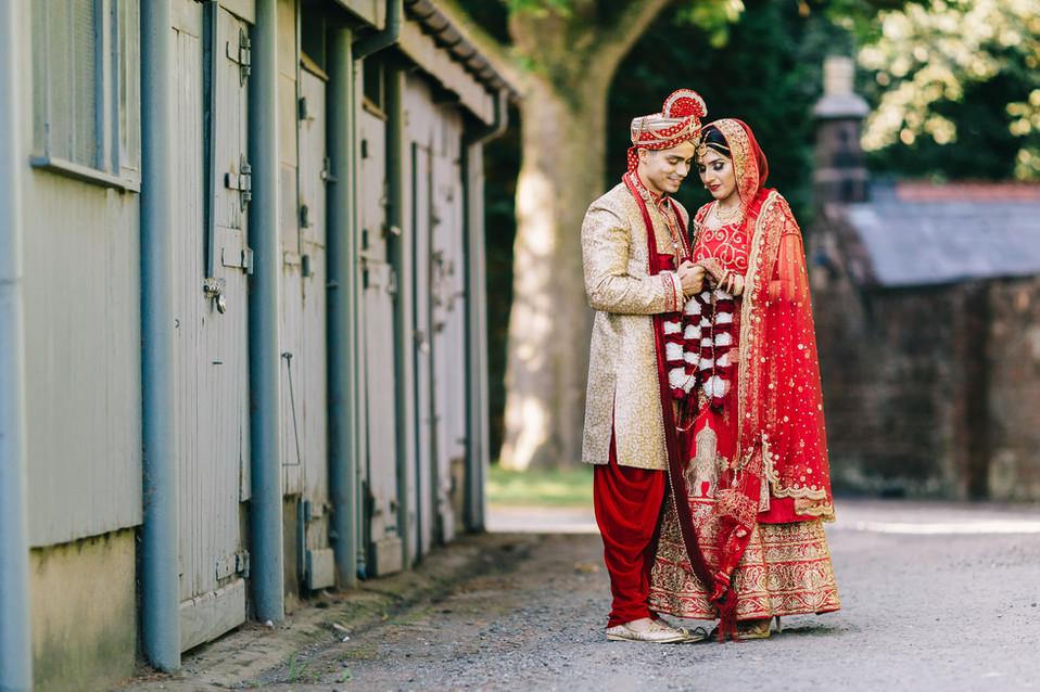 Asian wedding thornton manor