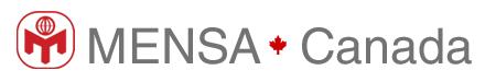 Mensa Canada Dr. Bruce McFarlane