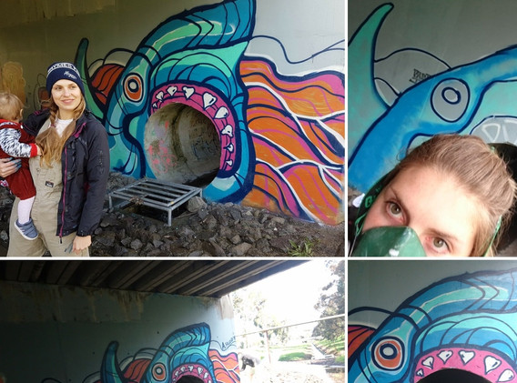 UNDERPASS PROJECT - GREAT WHITE STREET ART