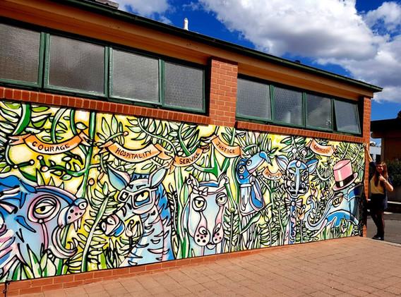 CMC BENDIGO SCHOOL MURAL - 2020