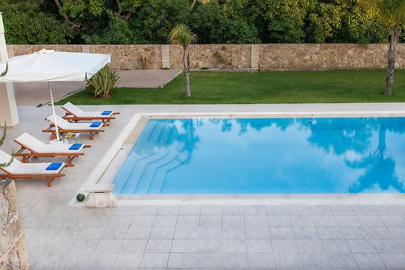 Villa Melitini pool