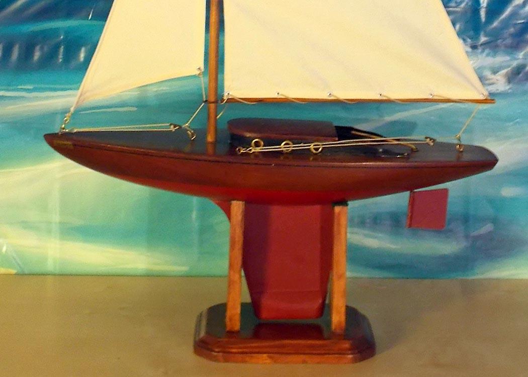 Ellen's Yankee After New Sails