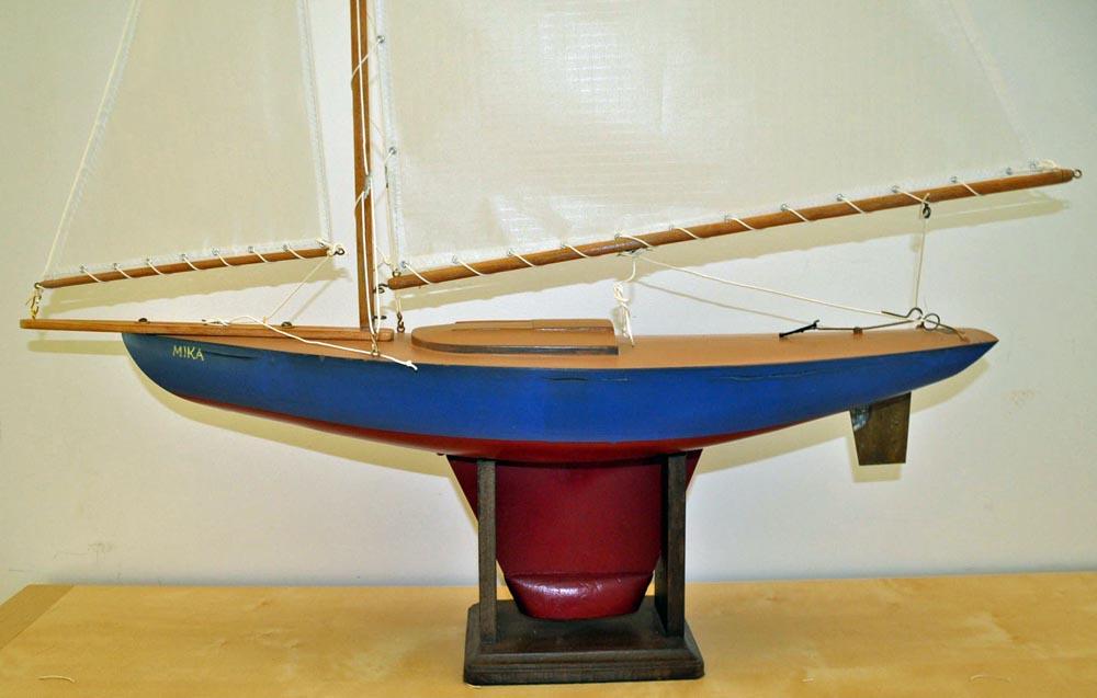 Nancy's Boat Repainted