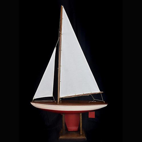 """Seaworthy/Jacrim 20"""" White Sloop, item 2020-08"""