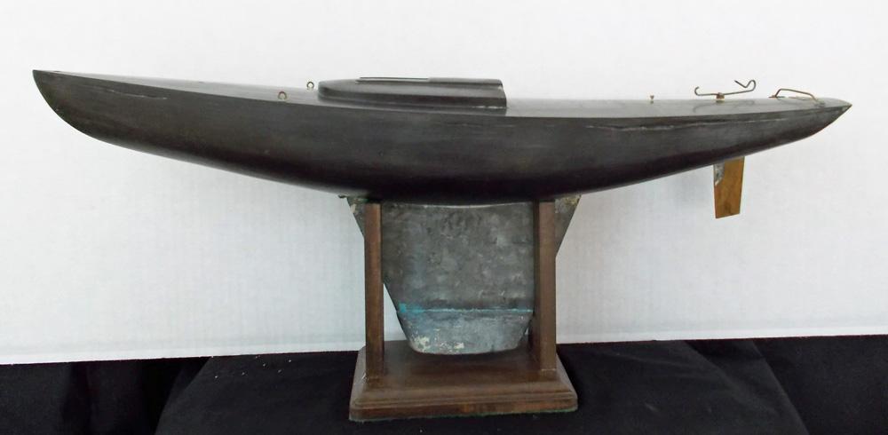 Nancy's Boat Stripped to Bakelite