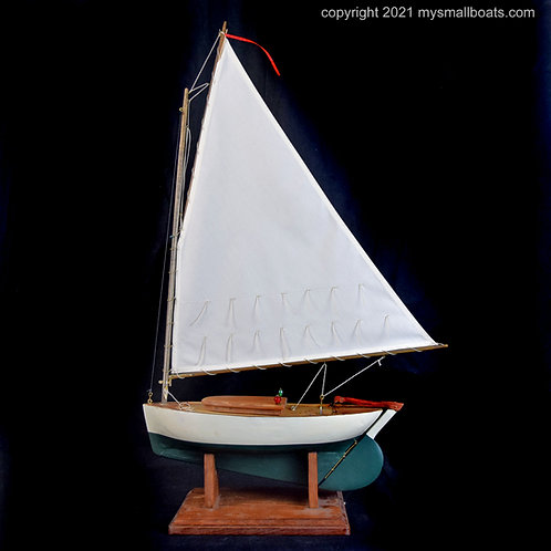 """Katie"" – 18"" Catboat, Item 2021-02"