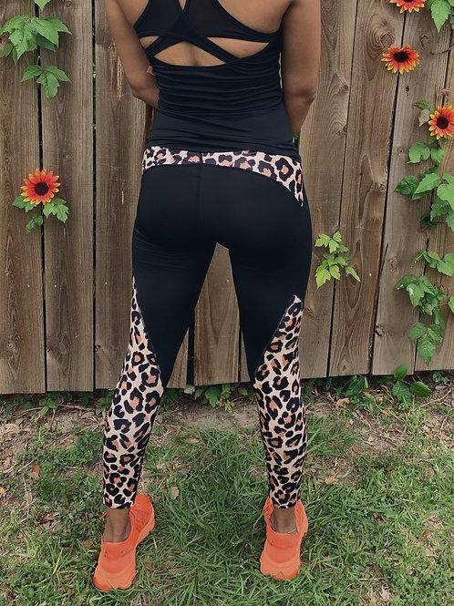 Basic Leopard Print Legging